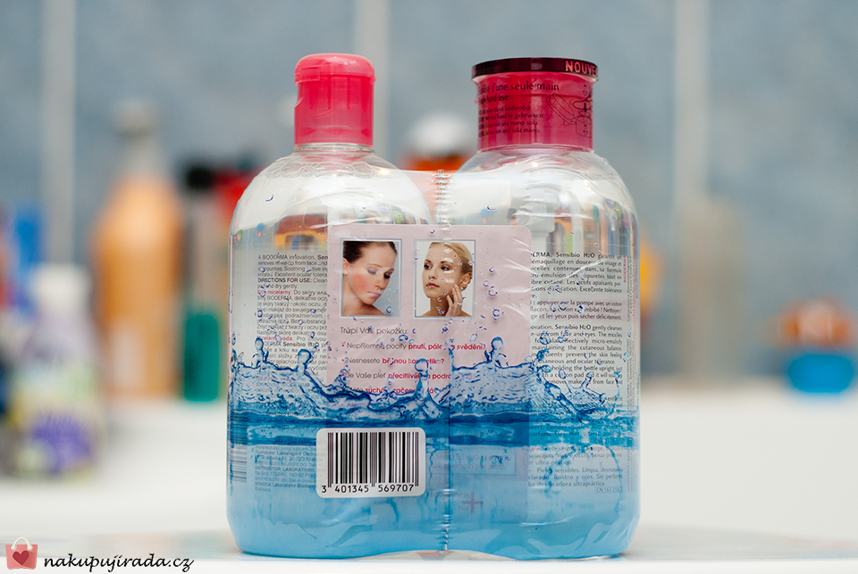 bioderma micelární voda