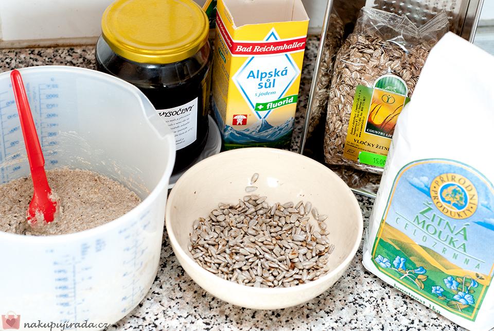 chleba ingredience