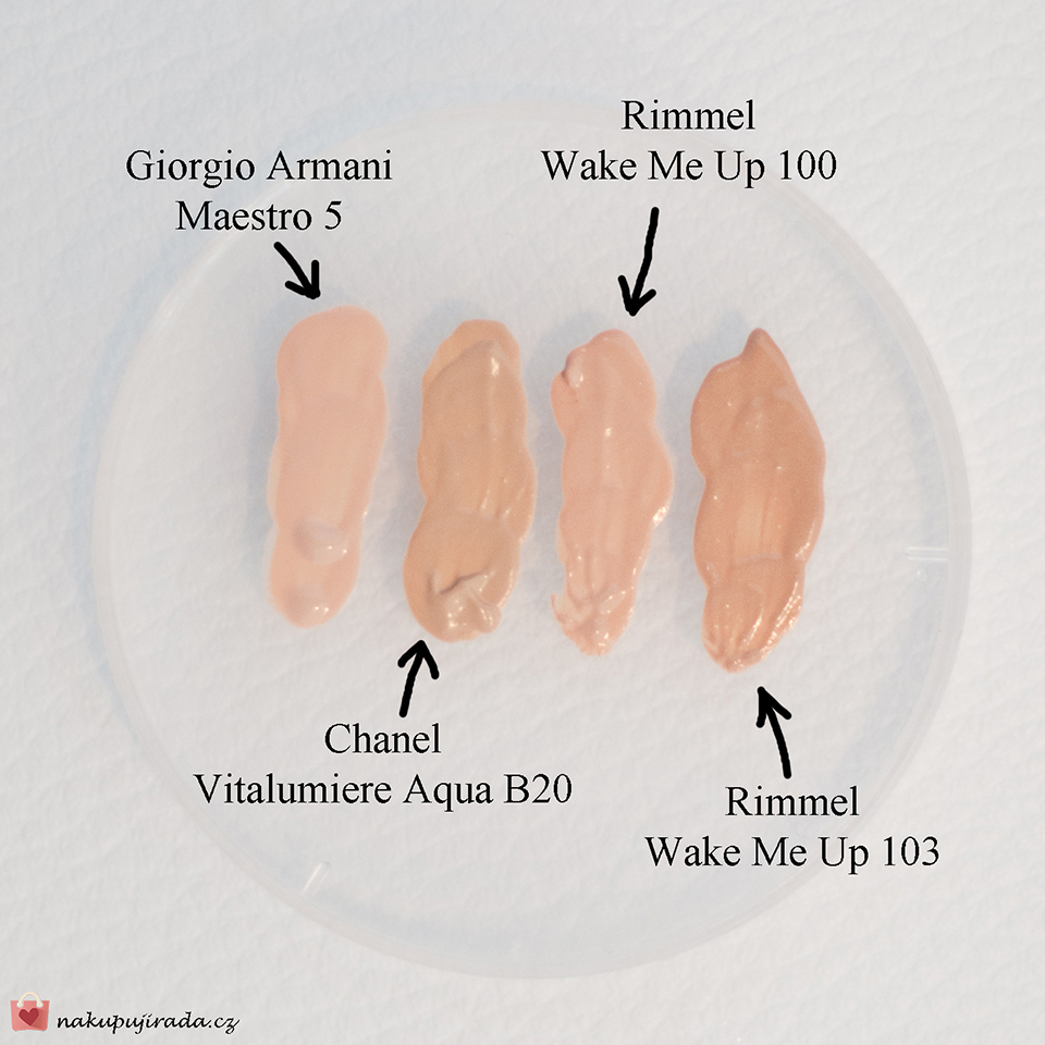 test make-upů
